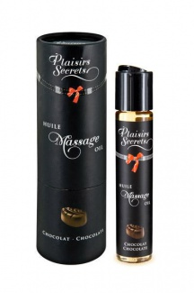 826001 MASSAGE OIL CHOCOLATE 59ML Массажное масло Шоколад 59 мл